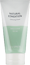 Fragrances, Perfumes, Cosmetics Sebum Control Cleansing Foam - The Saem Natural Condition Cleansing Foam Sebum Controlling