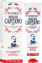 """Fragrances, Perfumes, Cosmetics Toothpaste """"Original"""" - Pasta Del Capitano Original Recipe Toothpaste"""