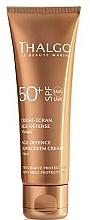 Anti-Aging Facial Sun Cream - Thalgo Age Defence Sunscreen Cream SPF 50 — photo N1