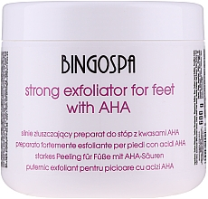 Fragrances, Perfumes, Cosmetics Strong Feet Exfoliant - BingoSpa Strong Exfoliant for Feet with AHA