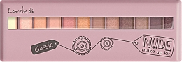 Fragrances, Perfumes, Cosmetics Shadow Palette - Lovely Classic Nude Make Up Kit