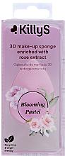 Fragrances, Perfumes, Cosmetics Rose Makeup Sponge - KillyS Blooming Pastel 3D Make-Up Sponge