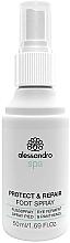 Fragrances, Perfumes, Cosmetics Antimicrobial Foot Spray - Alessandro International Spa Protect & Repair Foot Spray