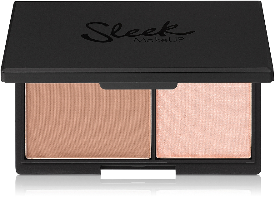 Face Matte Powder and Highlighter - Sleek MakeUP Face Contour Kit