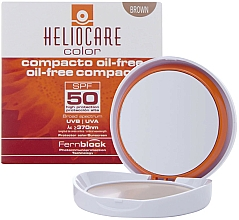 Fragrances, Perfumes, Cosmetics Oily and Combination Skin Compact Cream Powder - Cantabria Labs Heliocare Color Compact Oil-Free Spf 50