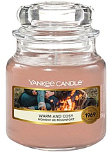 """Fragrances, Perfumes, Cosmetics Scented Candle in Jar """"Warm and Cosy"""" - Yankee Candle Warm and Cosy"""
