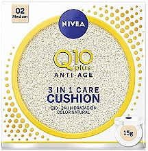 Fragrances, Perfumes, Cosmetics Foundation Cushion - Nivea Q10 Plus Anti-Aging Radiance BB Cushion