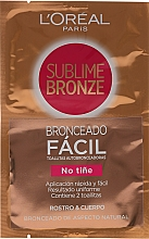 Fragrances, Perfumes, Cosmetics Self-Tanning Wipes - L'oreal Sublime Self-Tan Face & Body Wipes