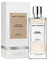 Fragrances, Perfumes, Cosmetics Angel Schlesser Les Eaux d'un Instant Vibrant Sandalwood - Eau de Toilette