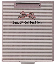 Fragrances, Perfumes, Cosmetics Mirror in Metal Case 85567, striped - Top Choice Beauty Collection Mirror