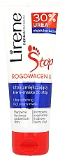 Fragrances, Perfumes, Cosmetics Repairing Foot Mask 2in1 - Lirene Stop Callusness Foot Cream-Mask