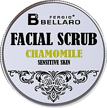 Fragrances, Perfumes, Cosmetics Chamomile Facial Scrub - Fergio Bellaro Facial Scrub Chamomile