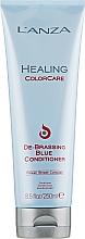 Fragrances, Perfumes, Cosmetics Anti-Yellow Conditioner - L'anza Healing ColorCare De-Brassing Blue Conditioner
