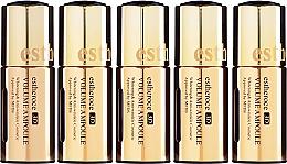 "Fragrances, Perfumes, Cosmetics Face Serum Set ""Cellular Skin Renewal"" - Deoproce Serum 3D Ampoule (Serum 18mlx5)"