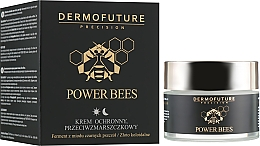 Fragrances, Perfumes, Cosmetics Protective Anti-Wrinkle Face Cream - Dermofuture Power Bees Protective Anti-wrinkle Cream