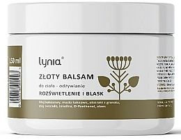 Fragrances, Perfumes, Cosmetics Gold Nourishing Body Balm - Lynia
