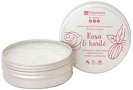 "Fragrances, Perfumes, Cosmetics Hand Cream ""Rose and Shea Butter"" - La Saponaria Hand Cream Rose and Shea Butter"