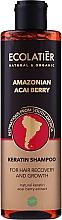 """Fragrances, Perfumes, Cosmetics Keratin Hair Shampoo """"Amazonian Acai Berry"""" - Ecolatier Amazonian Acai Berry Shampoo"""