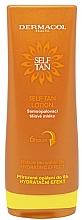 Fragrances, Perfumes, Cosmetics Self-Tan Body Milk - Dermacol Sun Self Tan Lotion