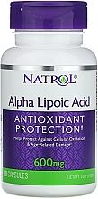 Fragrances, Perfumes, Cosmetics Alpha-Lipoic Acid, 600 mg - Natrol Alpha Lipoic Acid