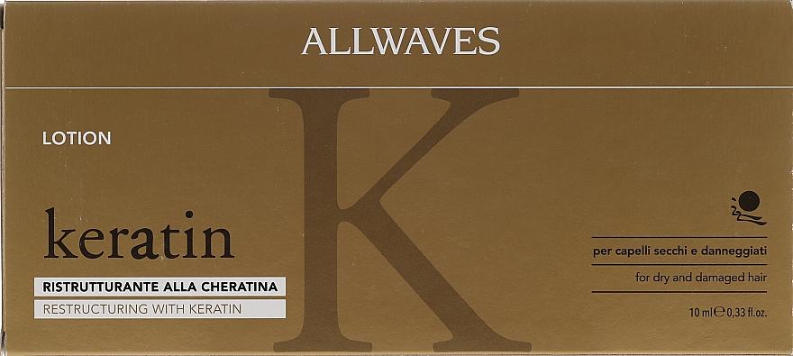 Keratin Hair Lotion - Allwaves Reconstructuring Keratin Lotion