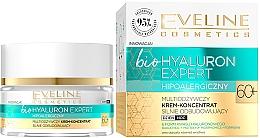 Fragrances, Perfumes, Cosmetics Ultra-Moisturizing Day & Night Cream-Concentrate - Eveline Cosmetics BioHyaluron Expert 60+
