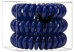 Fragrances, Perfumes, Cosmetics Hair Ring, dark blue - HH Simonsen Hair Cuddles Dark Blue