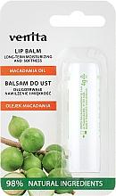 "Fragrances, Perfumes, Cosmetics Lip Balm ""Macadamia Oil"" - Venita Lip Balm Macadamia Oil"