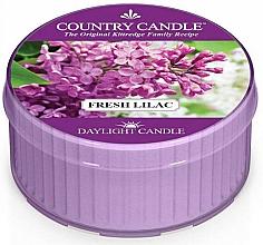 "Fragrances, Perfumes, Cosmetics Tea Light ""Fresh Lilac"" - Country Candle Fresh Lilac Daylight"