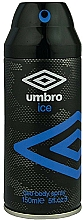 Fragrances, Perfumes, Cosmetics Umbro Ice - Deodorant-Spray