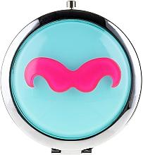 "Fragrances, Perfumes, Cosmetics Cosmetic Mirror, 85697 ""Lusterko Kompaktowe"", blue - Top Choice"