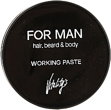 Fragrances, Perfumes, Cosmetics Mattifying Hair Paste - Vitality's For Man Working Paste