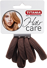 Fragrances, Perfumes, Cosmetics Medium Elastic Hair Band, brown - Titania