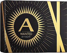 Fragrances, Perfumes, Cosmetics Azzaro Wanted By Night - Set ( edp/100ml + deo/75ml)