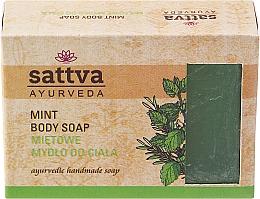 Fragrances, Perfumes, Cosmetics Soap - Sattva Hand Made Soap Mint