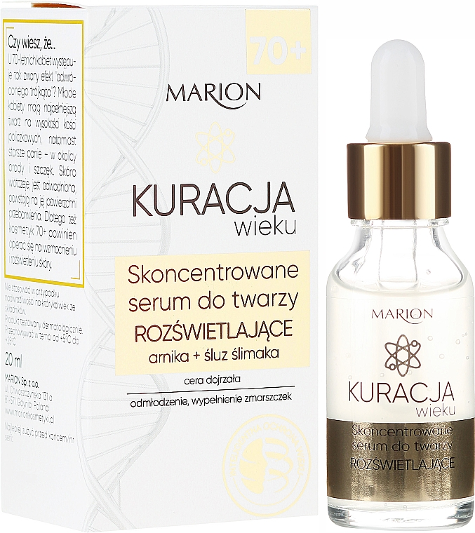 Concentrated Facial Serum - Marion Age Treatment Serum 70+
