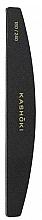 Fragrances, Perfumes, Cosmetics Double-Sided Half Moon Nail File, 180/240 - Kashoki