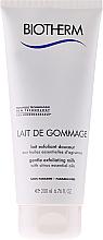 Exfoliating Body Milk-Gommage for Dry Skin - Biotherm Body Lait De Gommage Gentle Exfoliating Milk — photo N1