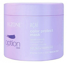 Fragrances, Perfumes, Cosmetics Hair Color Preserving Mask - H.Zone Colour Protect Mask