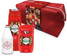 Fragrances, Perfumes, Cosmetics Set - Old Spice Bearglove Travel (deo/50g + sh/gel/250ml + ash/lot/100ml + bag)