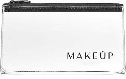 "Fragrances, Perfumes, Cosmetics Clear Makeup Bag Flat Glow"" 20x10 cm - MakeUp"