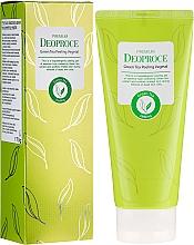 Fragrances, Perfumes, Cosmetics Green Tea Peeling Gel - Deoproce Premium Green Tea Peeling Vegetal