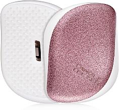 Fragrances, Perfumes, Cosmetics Compact Hair Brush - Tangle Teezer Compact Styler Glitter Rose