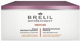 Fragrances, Perfumes, Cosmetics Repair Hair Ampoules - Brelil Bio Treatment Repair Phials