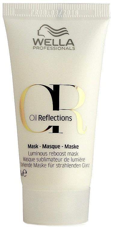 Intensive Shine Mask - Wella Professionals Oil Reflections Luminous Reboost Mask (mini size)