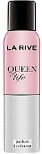 Fragrances, Perfumes, Cosmetics La Rive Queen of Life - Deodorant