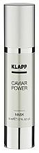 "Fragrances, Perfumes, Cosmetics Face Mask ""Spark Energy"" - Klapp Caviar Power Mask"