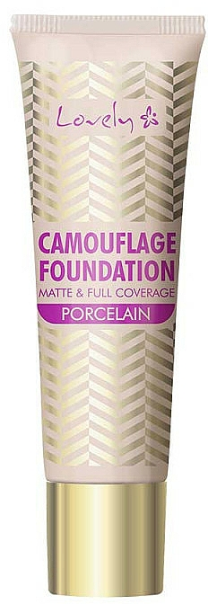 Face Foundation - Lovely Camouflage Foundation