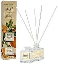 Fragrances, Perfumes, Cosmetics Cinnamon & Orange Set - Flor De Mayo Mikado (2xdiffuser/50ml)