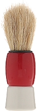 Fragrances, Perfumes, Cosmetics Shaving Brush, 9573, red - Donegal